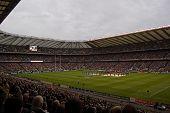 TWICKENHAM LONDON - NOVEMBER 13: England vs Australia Investec Rugby Match on November 13, 2010 in Twickenham, England.