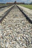 Auschwitz Ii-Birkenau dood Gate