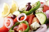 image of greek food  - greek salad - JPG