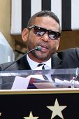 LOS ANGELES - MAY 19:  Benny Medina at the Chaka Kahn Hollywood Walk of Fame Star Ceremony at Hollyw