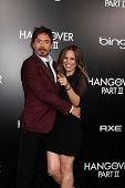 LOS ANGELES - MAY 19:  Susan & Robert Downey Jr arriving at the
