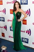 LOS ANGELES - APR 10: Lisa Vanderpump arrives at the 22nd annual GLAAD Media Awards at Westin Bonaventure Hotel on April 10, 2011 in Los Angeles, CA.