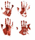 Bloody Handprints