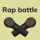 Rap Battle Label poster