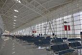 chinesische Regionalflughafen, Jinan, Shandong, china