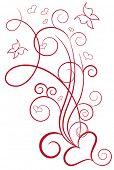 Elegant valentine design
