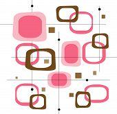 Retro Pink Squares