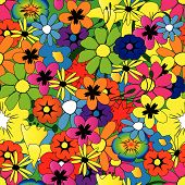 Brightflowerpattern.Eps