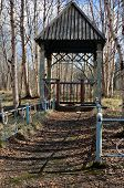 Old Wooden Arbour
