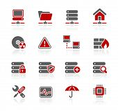 Network, Server & Hosting Icons // Redico Series