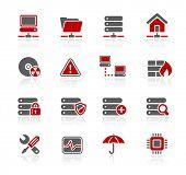 Network, Server & Hosting Icons // Redico Series