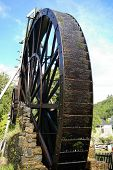 Large Water Wheel
