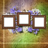 Vintage Framework For Invitation Or Congratulation.