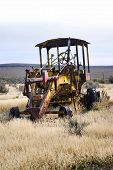 Vintage Tractor in the Field