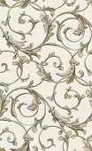 Vector Classic Seamless Pattern Background. Classical Luxury Old Fashioned Classic Ornament, Royal V poster