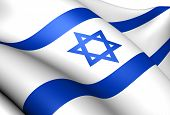 image of flutter  - Flag of Israel - JPG