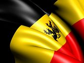 Government Ensign Of Belgium