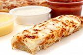 Pizza Sticks And Marinara Sauce, Garlic Sauce And Ranch Dressing