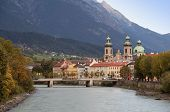 Austria - Innsbruck - Inn river and city