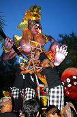 Giant monster for night festival