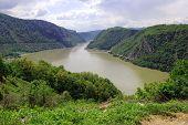 Danube Between Romania And Serbia poster