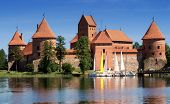 Medieval Castle In Trakai, Lithuania
