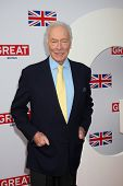 LOS ANGELES - FEB 24:  Christopher Plummer arrives at the GREAT British Film Reception at the British Consul General�?�¢??s Residence on February 24, 2012 in Los Angeles, CA.