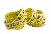 Yellow Curl Measure Tape