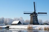 Dutch winter landscape