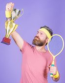 Win Tennis Game. Tennis Match Winner. Achieved Top. Tennis Player Win Championship. Athlete Hold Ten poster