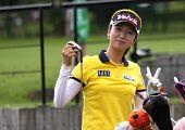 Kyeong Bae (KOR) at Evian Masters golf cup 2011