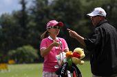 Ami Yang  (KOR) at Evian Masters golf cup 2011
