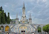 Rosary Basilica In Lourdes