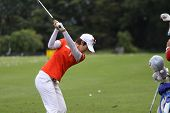 Song Hee Kim (KOR) at The Evian Masters golf tournament 2011