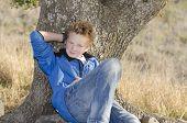 Teen Under Tree