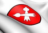 Bottmingen Coat Of Arms, Switzerland.