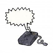 cartoon whirring hard drive