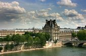 Louvre Museum Seen From Orsay Museum Top