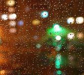 Droplets Of Night Rain