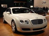 Bentley At New York Auto Show