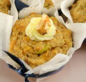 Fruit Muffin With Walnuts