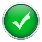 Green Okay Icon