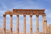 picture of euphrat  - ancient Palmyra Syria place roman ruins destroyed - JPG