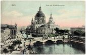Berlin Cathedral Postcard