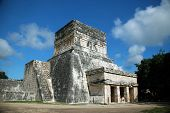 Grand Entrance To Ancient Mayan Building