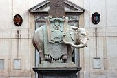 Minerva Elephant In Rome