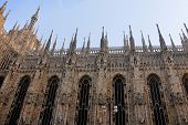 The main cathedral in Milan
