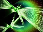Binary Code Data Flow, Communication