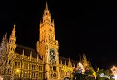Munich At Night