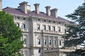 The Breakers Mansion in Newport, Rhode Island